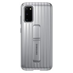 Samsung Coque Protective Standing Galaxy S20 - Argent