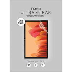 Selencia Protection d'écran Duo Pack Ultra Clear Galaxy Tab A7