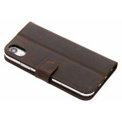Valenta L'étui de téléphone Classic Luxe iPhone Xr - Brun
