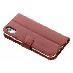 Valenta L'étui de téléphone Classic Luxe iPhone Xr - Brun clair