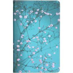 Coque silicone design Samsung Galaxy Tab S6 Lite - Blossom