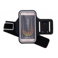 Bracelet de sport Taille Samsung Galaxy J3 (2017) - Noir