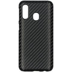 Coque rigide en carbone Samsung Galaxy A40