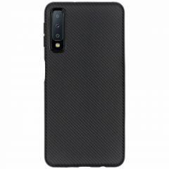 Coque silicone Carbon Samsung Galaxy A7 (2018)