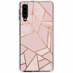 Coque design Samsung Galaxy A7 (2018) - Pink Graphic