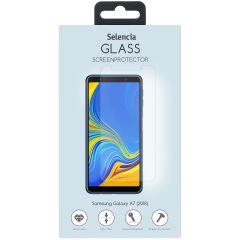 Selencia Protection d'écran en verre durci Samsung Galaxy A7 (2018)