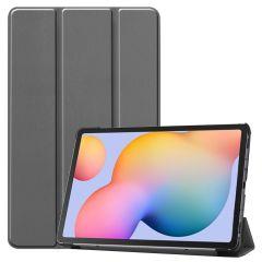 iMoshion Étui de tablette Trifold Samsung Galaxy Tab S6 Lite - Gris