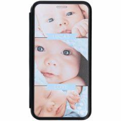 Conceptions portefeuille gel (une face) Galaxy A7 (2018)