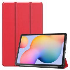 iMoshion Étui de tablette Trifold Samsung Galaxy Tab S6 Lite - Rouge