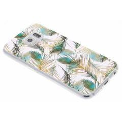 Coque design Samsung Galaxy S6 - Peacock Gold
