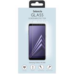 Selencia Protection d'écran en verre durci Samsung Galaxy A8 (2018)
