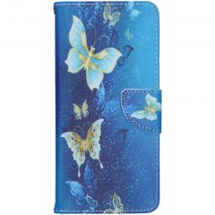Coque silicone design Nokia 5.3 - Blue Butterfly