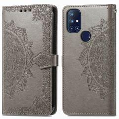 iMoshion Etui de téléphone portefeuille Mandala OnePlus Nord N10 5G