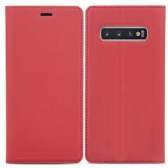 iMoshion Étui de téléphone Slim Folio Samsung Galaxy S10 - Rouge