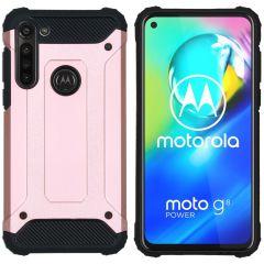 iMoshion Coque Rugged Xtreme Motorola Moto G8 Power - Rose