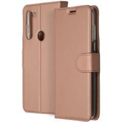 Accezz Étui de téléphone Wallet Motorola Moto G8 Power - Rose