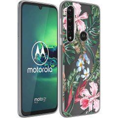 iMoshion Coque Design Motorola Moto G8 Power - Tropical Jungle