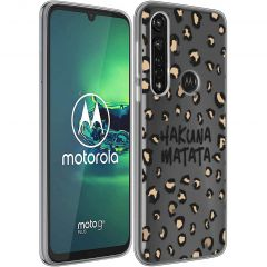 iMoshion Coque Design Motorola Moto G8 Power - Leopard