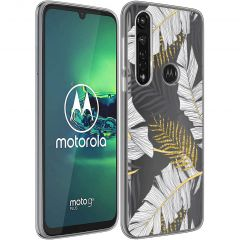 iMoshion Coque Design Motorola Moto G8 Power - Glamour Botanic
