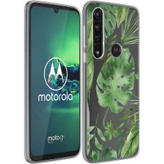 iMoshion Coque Design Motorola Moto G8 Power - Monstera Leafs