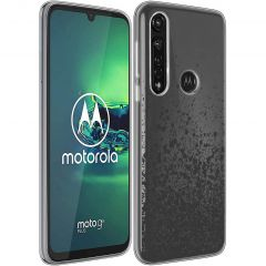iMoshion Coque Design Motorola Moto G8 Power - Splatter - Noir