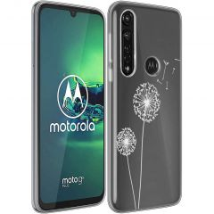 iMoshion Coque Design Motorola Moto G8 Power - Dandelion - Blanc