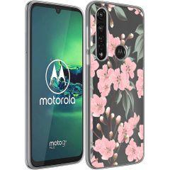 iMoshion Coque Design Motorola Moto G8 Power - Cherry Blossom