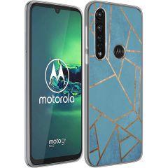 iMoshion Coque Design Motorola Moto G8 Power - Graphic - Bleu
