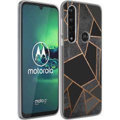 iMoshion Coque Design Motorola Moto G8 Power - Graphic - Noir