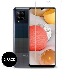 iMoshion Protection d'écran en verre durci 2 pack Samsung Galaxy A42