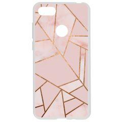 Coque design Motorola Moto E6 Play - Pink Graphic