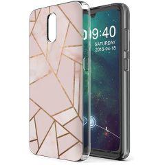 iMoshion Coque Design Nokia 2.3 - Pink Graphic