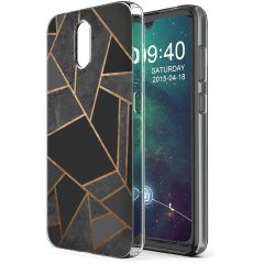iMoshion Coque Design Nokia 2.3 - Black Graphic