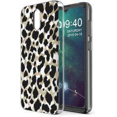 iMoshion Coque Design Nokia 2.3 - Golden Leopard
