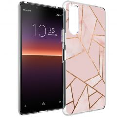 iMoshion Coque Design Sony Xperia 10 II - Pink Graphic