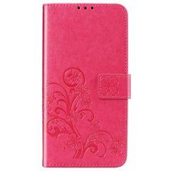 Etui de téléphone Fleurs de Trèfle Nokia 2.3 - Rose