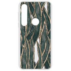 Coque design Motorola Moto G8 Plus - Wild leafs