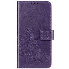 Etui de téléphone Fleurs de Trèfle Nokia 2.3 - Violet