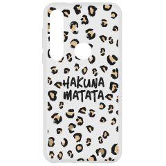 Coque design Motorola Moto G8 Plus - Hakuna Matata