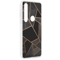 Coque design Motorola Moto G8 Plus - Black Graphic