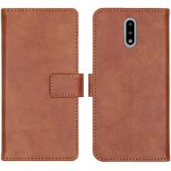 iMoshion Étui de téléphone portefeuille Luxe Nokia 2.3 - Brun