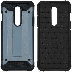 iMoshion Coque Rugged Xtreme OnePlus 8 - Bleu foncé