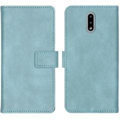 iMoshion Étui de téléphone portefeuille Luxe Nokia 2.3 - Bleu clair