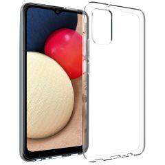 Accezz Coque Clear Samsung Galaxy A02s - Transparent