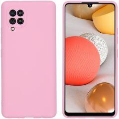 iMoshion Coque Color Samsung Galaxy A42 - Rose
