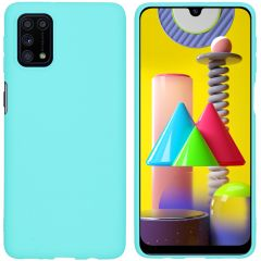 iMoshion Coque Color Samsung Galaxy M31s - Turquoise