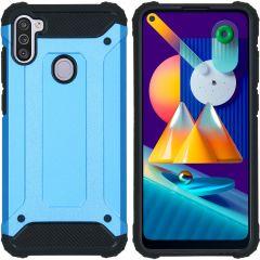 iMoshion Coque Rugged Xtreme Samsung Galaxy M11 / A11 - Bleu clair