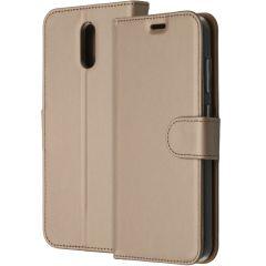 Accezz Étui de téléphone Wallet Nokia 2.3 - Dorée