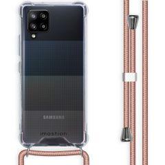 iMoshion Coque avec cordon Samsung Galaxy A42 - Rose Champagne