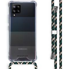 iMoshion Coque avec cordon Samsung Galaxy A42 - Vert